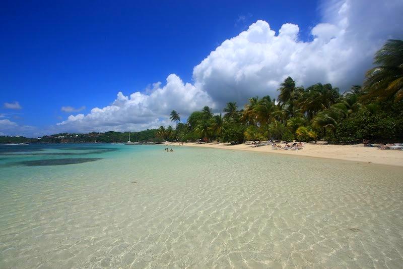 plage sainte anne - guadeloupe