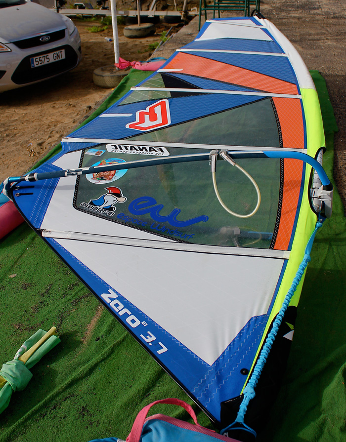 tester une voile