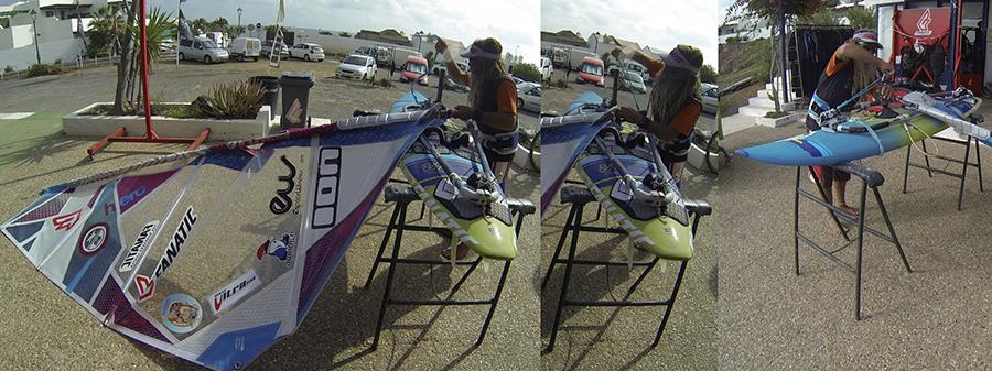 windsurf - casser du matériel