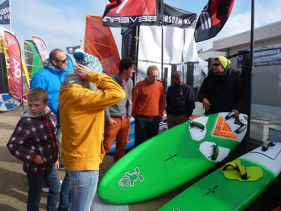 benoit rovoletto - windsurfer