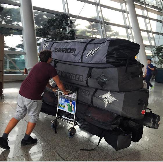 boardbag - windsurf - voyage