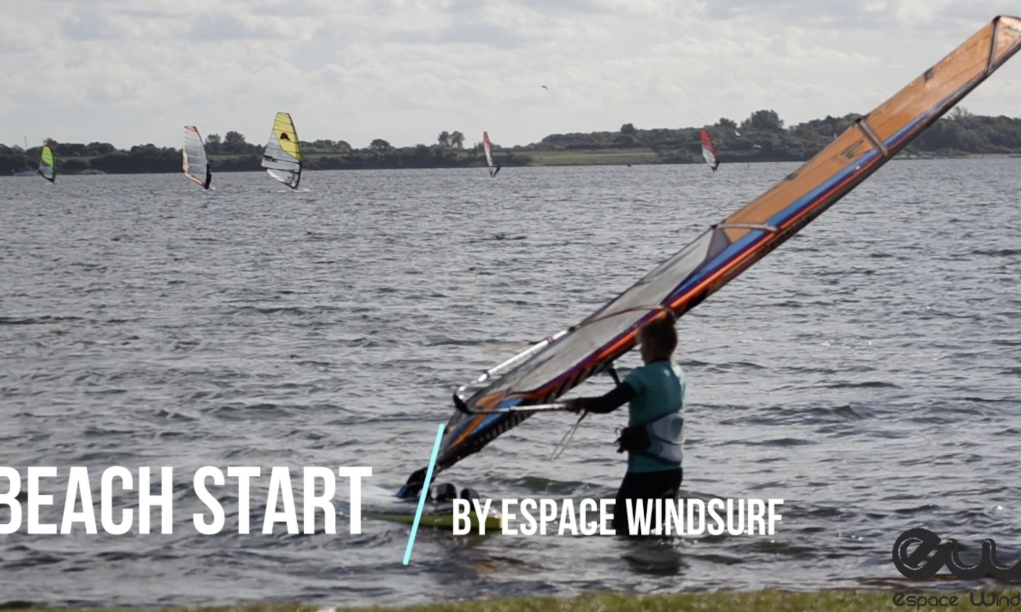 beach start - windsurf