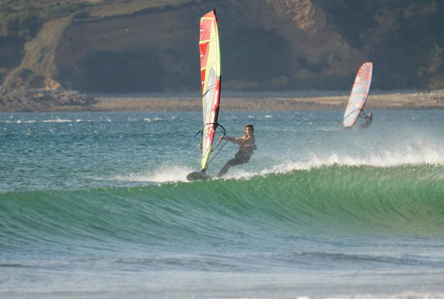 vauville - windsurfing