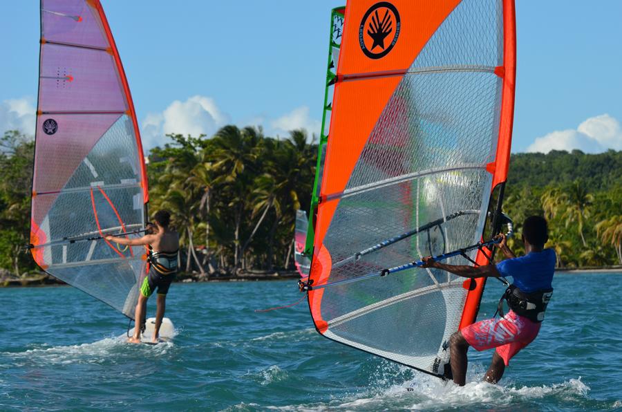 windsurf - guadeloupe