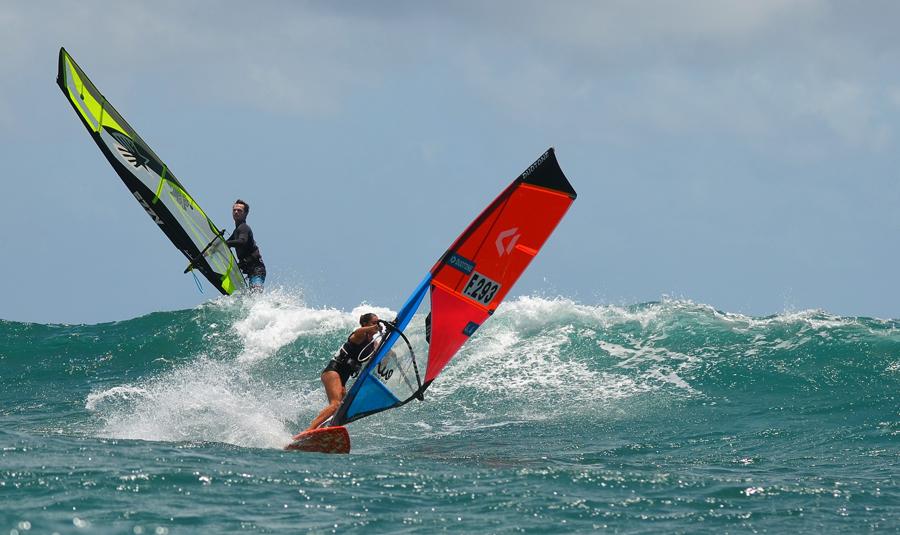 entrainement vague - windsurf