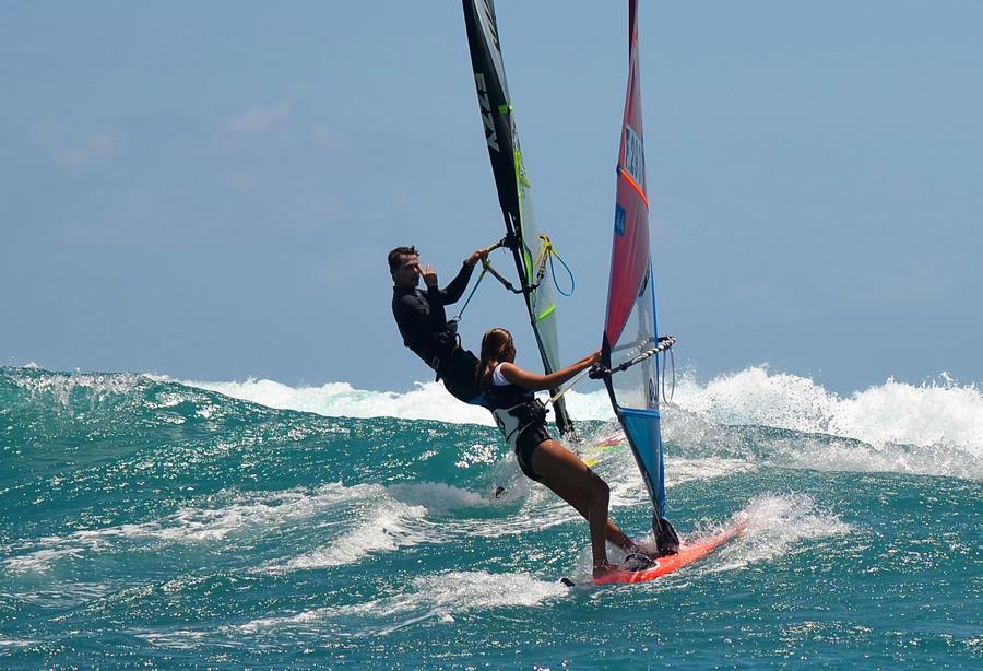 entrainement windsurf